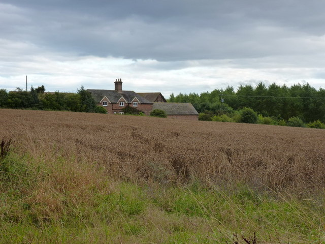 Caughley Farm from Caughley Road