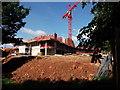 SP3075 : Construction works on Warwick University campus by John Brightley