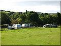 SE1021 : Elland Hall Farm caravan site  by Stephen Craven