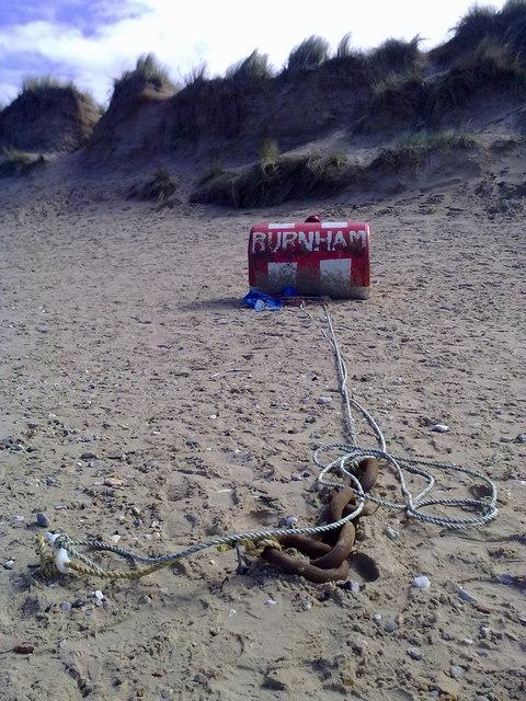 Buoy on beach
