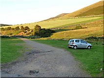NT8327 : Parking for the Pennine Way by Oliver Dixon