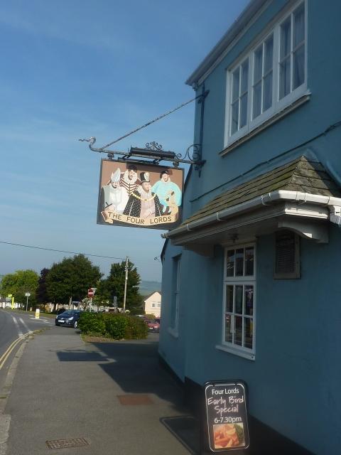 The Four Lords Pub, St Blazey Gate