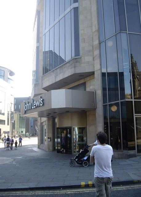 Entrance to John Lewis