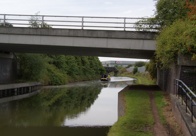 Boat on the Bridgewater Canal