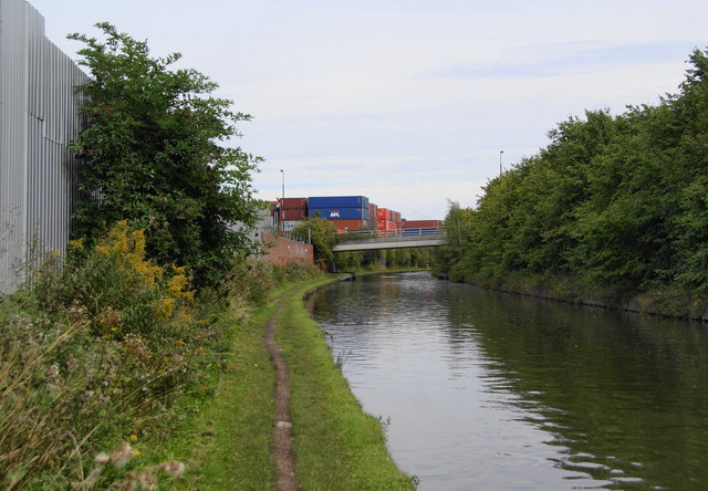 The Bridgewater Canal at Trafford Park