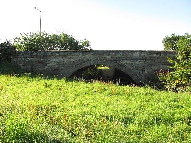 Bridge over the Almond