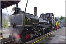 SH5752 : Welsh Highland Railway K1 at Rhyd-Ddu station by Ian Taylor