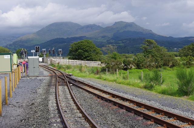 Welsh Highland Railway, Pont Croesor station