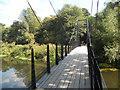 SJ5510 : Footbridge over the River Tern at Botanybay Plantation by Row17