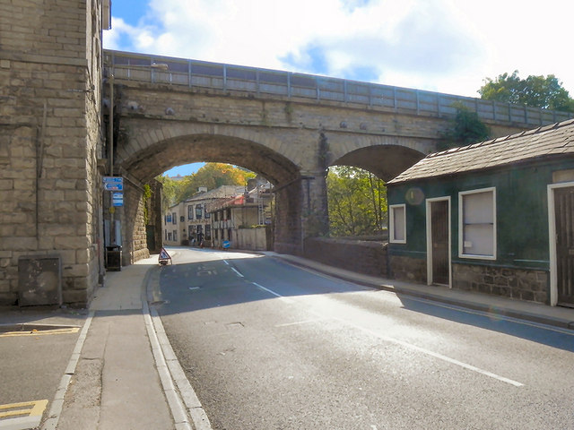 Railway Viaduct at Mytholmroyd