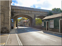 SE0125 : Railway Viaduct at Mytholmroyd by David Dixon