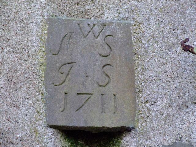 Inscription above Howe O' Buchan House