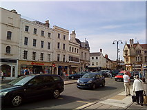 SP0202 : Market place in Cirencester by Andrew Abbott