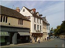 SP0202 : Dollar Street, Cirencester by Andrew Abbott