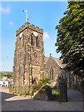 SE0125 : St Michael's Church, Mytholmroyd by David Dixon