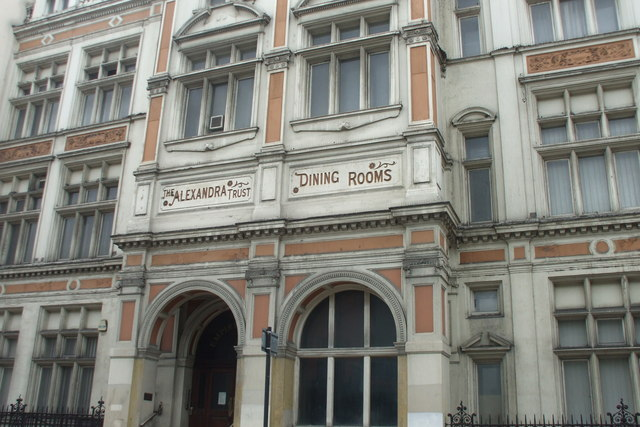 Alexandra Trust dining rooms, EC1