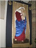 TM2850 : Melton, St Andrew: banner by Basher Eyre