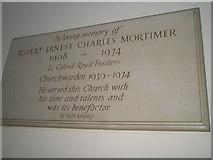 TM2850 : Melton, St Andrew: memorial (6) by Basher Eyre