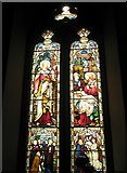 TM2850 : Melton, St Andrew: stained glass window (3) by Basher Eyre