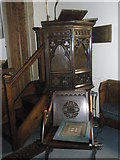 TM2850 : Melton, St Andrew: pulpit by Basher Eyre
