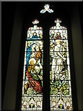 TM2850 : Melton, St Andrew: stained glass window (4) by Basher Eyre