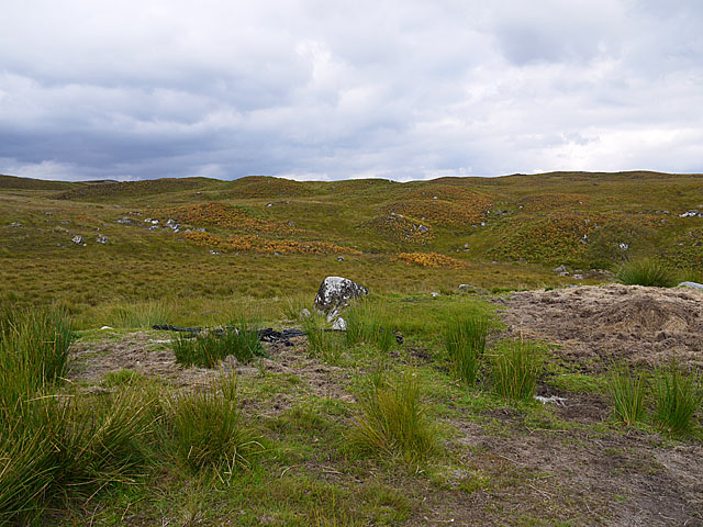 Moorland above Loch Eigheach