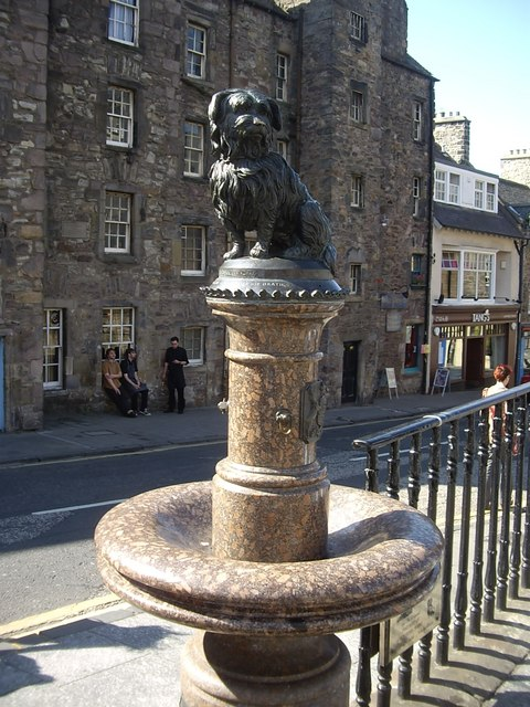 Greyfriars Bobby drinking fountain