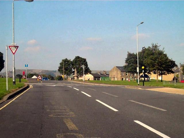 Spring Edge/Free School Lane Junction