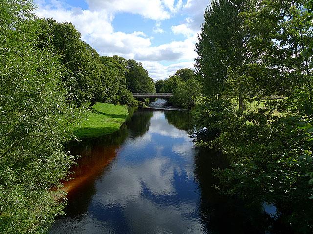 The River Lossie in Elgin