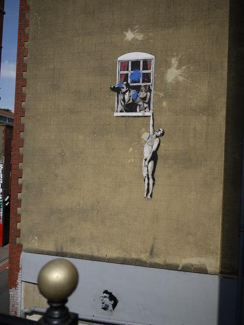 Bristol's Banksy - Park Street