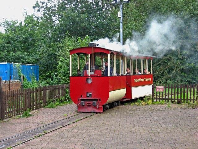 Steam tram, Telford Steam Railway