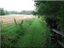 TL9558 : Green Footpath by Keith Evans