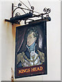 TQ8209 : Kings Head sign by Oast House Archive