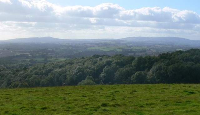 View west to the Shropshire Hills