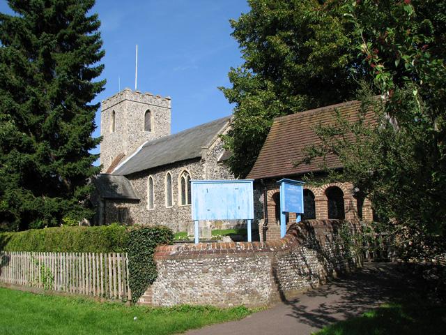 St Margaret's church in Drayton