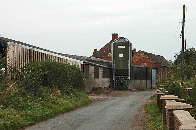 The working end of Woodhouse Farm