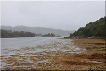 NM6356 : Shoreline of Caolas Rahuaidh by Michael Jagger