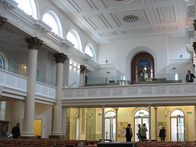 St Peter's Notting Hill, looking west