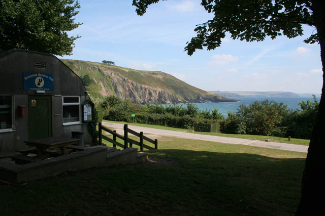 View from the South West Coast Path at Revelstoke