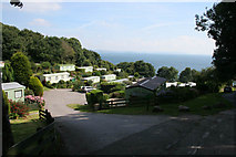 SX5646 : Revelstoke Caravan Park by Kate Jewell