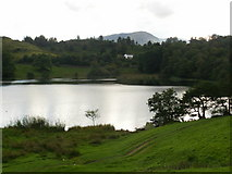 NY3404 : Loughrigg Tarn, view towards Wetherlam by Peter S
