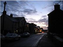 SM7525 : High Street, St. David's, at dusk by Gareth James