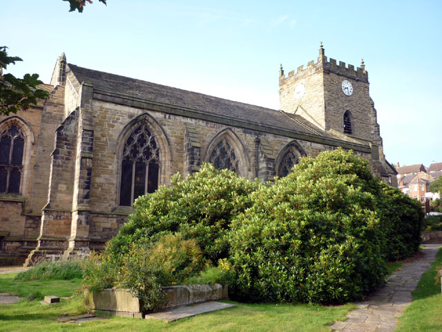 The Church of St Thomas the Martyr, Upholland