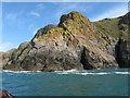 SM6923 : Trwyn yr Allt, Ramsey Island by Gareth James