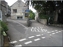 SK1482 : Road junction near Youth Hostel by Philip Barker