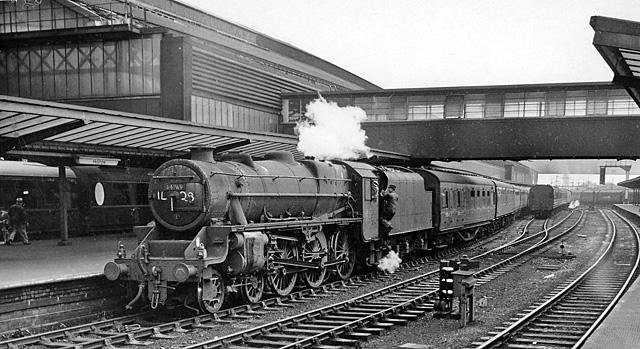 Preston Station, with train