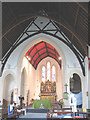 TQ2277 : Holy Trinity church, Barnes: interior by Stephen Craven