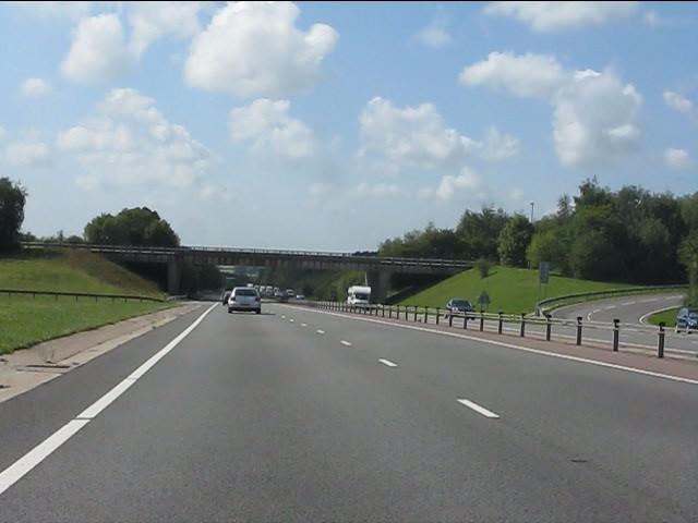 A449 - A40 overbridge, Raglan