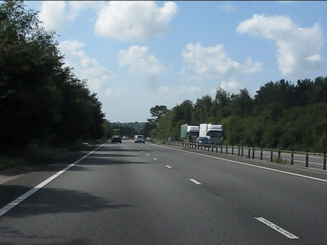 A449 east of Raglan
