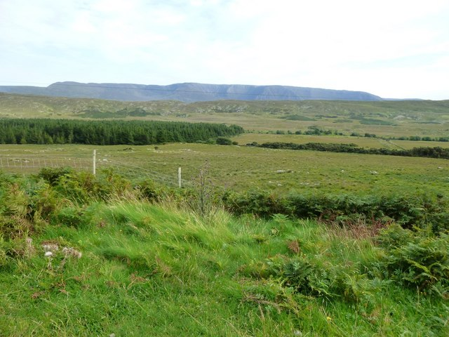 Moorland looking towards the Partry Mountains